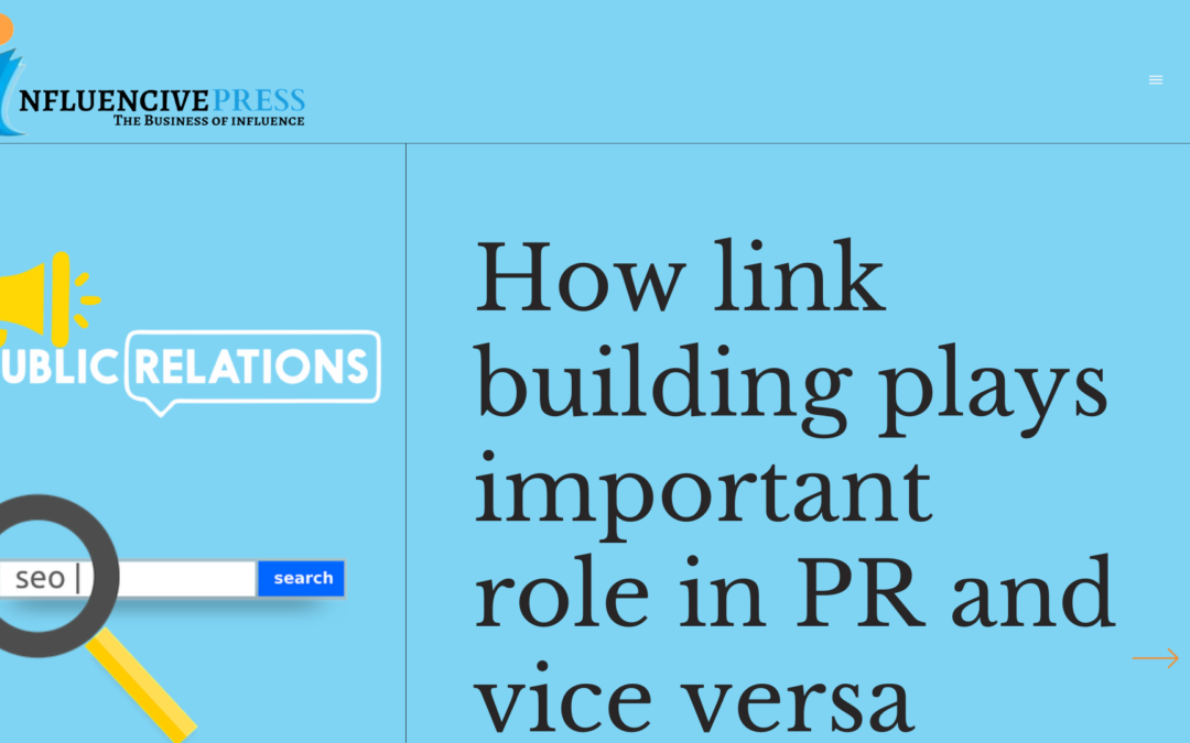 How backlinks plays important role in PR and vice versa